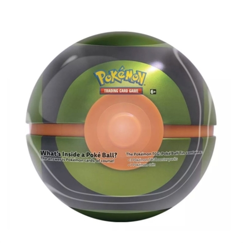Tin PokeBall Dusk ball - Pokemon kort